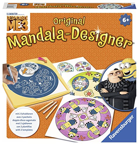 Ravensburger 29996 - Mandala Designer Midi - Minions