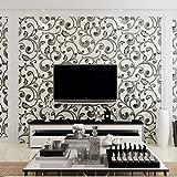 YUANLINGWEI Non-Woven Wallpaper Wallpaper Schlafzimmer Tv Hintergrundbild, Milchig-Weiß