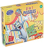 #3: Sterling Tom and Jerry 2 in 1 Puzzles, Multi Color