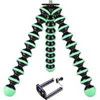 Yantralay 10 inch Lightweight Flexible Gorillapod Tripod with Mobile Attachment for DSLR, Action Cameras, Digital Cameras & Smartphones - Green