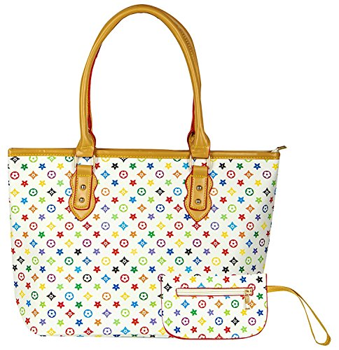 Bazaar Pirates Women Tote Bag, Hand Bag For Women, Printed Tote Bag (White)