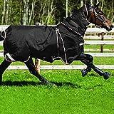 Pferdedecke Horseware Rambo Optimo mit Liner und Halsteil 140cm Black/Orange & Black