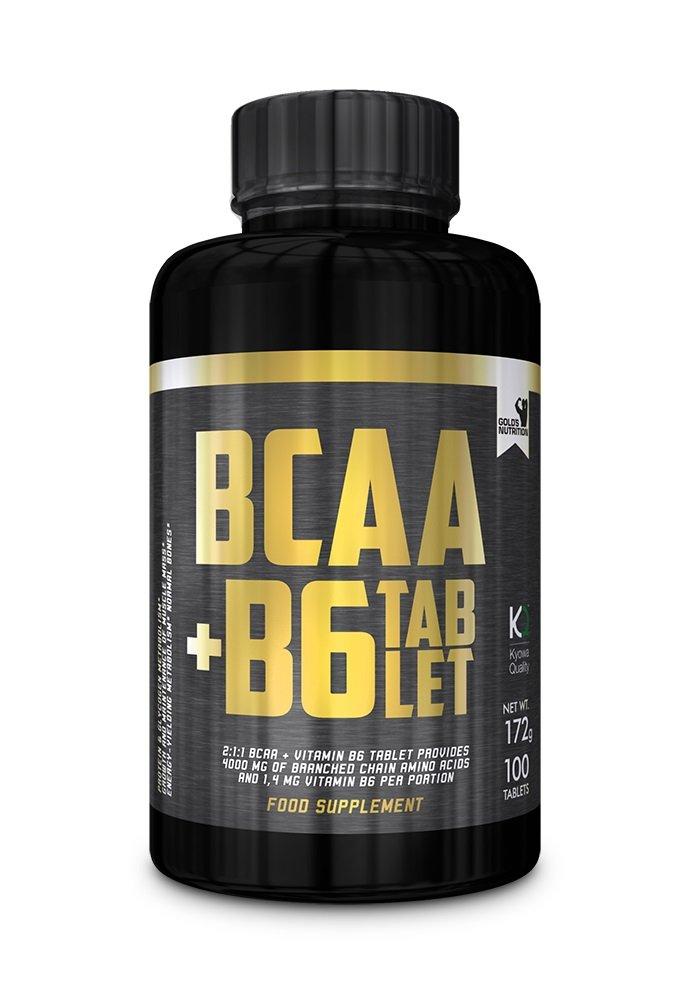 BCAA + B6 - Gold's Nutrition - anticatabolici - Aminoacidi Ramificati Kyowa 100cps