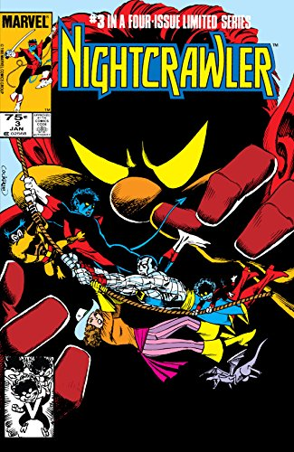 Nightcrawler comes face-to-face with his living caricature. Meet the Bamfs, a strange race of mini-Nightcrawlers with teleportation powers and prehensile tails! Nightcrawler uncovers the truth about the dimension he's trapped in. How is Kitty Pryde r...