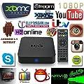 MXQ Amlogic S805 Quad Core Smart TV Box With Xbmc Kodi Pre-installed Android 4.4 Kitkat System H.265 Wifi LAN Miracast Airplay Stream Media Player 1G RAM 8G ROM