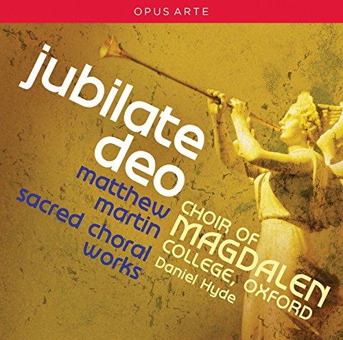 Martin: Jubilate Deo - Sacred Choral Works