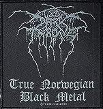 True Darkthrone Norweigan Black Metal-Woven Patch SP1714 by Darkthrone