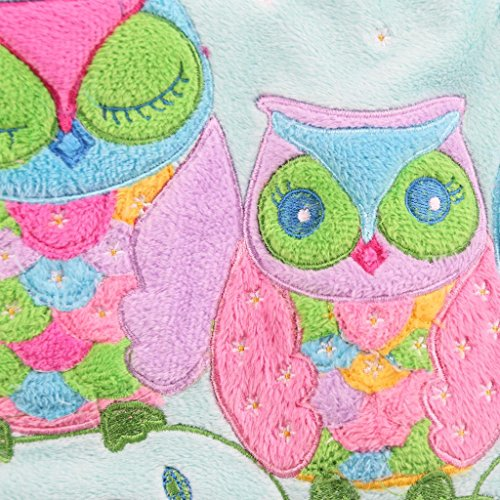 Jiggle & Giggle Owl Mittagessen-Tasche Gestickte Kissenbezug