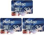 3er-Pack 32G Speicherkarte,Micro SD Karte(A1, U1, C10, V10, FHD, 600X), TF Memory Card UHS-I bis zu 90/10 MB/s(R/W) für Kamer
