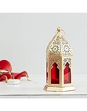 Home Centre Moksha Hanging Lantern - Red