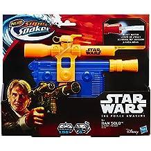 Nerf B4439 1.98L Pistola de agua de espuma - Pistolas de agua (1,98 L, Pistola de agua de espuma, Integrado, 6 m, Azul, Naranja, 6 año(s))