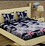 #6: Glace Cotton King Size Double Bedsheet,Set of 1 Bedsheet and 2 Pillow covers From Fashion Hub™