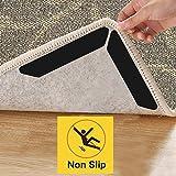 Teppich Gripper - Anti Rutsch Curling Teppich Aufkleber, 16 Stück Wiederverwendbare Teppich Halter für Verschiedene Böden und Teppiche Badezimmer Office Küche, Um Ihren Teppich in Orten zu Halten