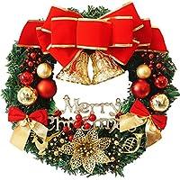 Coxeer Ghirlande di Decorazione di Natale con Candele palla appeso
