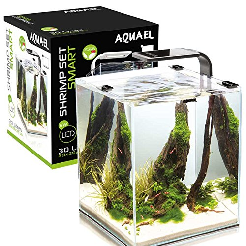 Aquael-Aquarium-Shrimp-Set-SMART-LED-komplett-Set-mit-morderner-LED-Beleuchtung