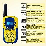 kingtoys 2X Funkgeräte für Kinder,Funksprechgerät 3KM Reichweite 8 Kanäle VOX Taschenlampe Sprechfunkgerät Funkgeräte mit LCD Display Walkie Talkies(Gelb) für kingtoys 2X Funkgeräte für Kinder,Funksprechgerät 3KM Reichweite 8 Kanäle VOX Taschenlampe Sprechfunkgerät Funkgeräte mit LCD Display Walkie Talkies(Gelb)