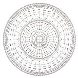Uchida cercle complet rapporteur 12cm 1-822-0000 (japon importation)