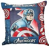 Dekokissen cm 40x 40Kinderzimmer Original Avengers Marvel by Bassetti Hulk Ironman Captain America Civil War CAPTAIN AMERICA