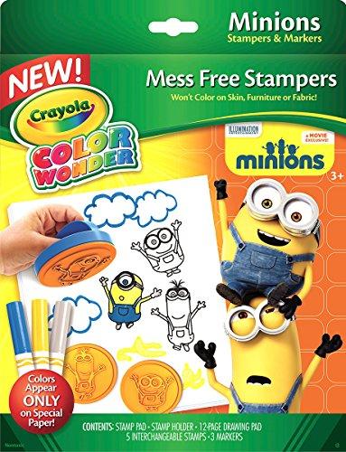 kit-stampini-e-pennarelli-magici-crayola-color-wonder-minions-cattivissimo-me
