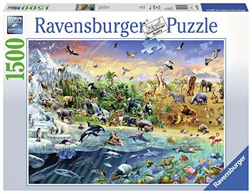 Ravensburger Puzzle 163649, 1500 Teile, Märklin Eisenbahn-Romantik