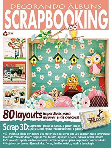 Decorando Álbuns Scrapbooking 37 (Portuguese Edition) por On Line Editora