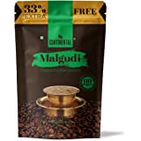 Continental Malgudi Filter Coffee 266gm Pouch ( 200g + 66g Free ) ( 60% Coffee - 40% Chicory )
