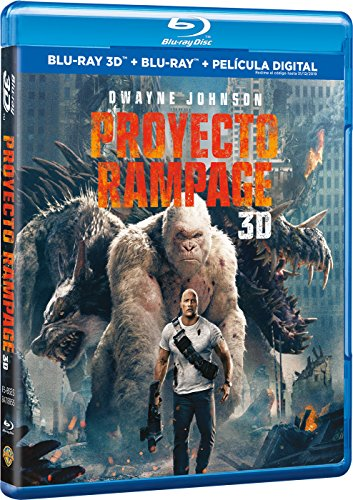 Proyecto Rampage Blu-Ray 3d [Blu-ray]