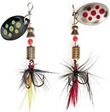 Zibuyu Spinner Spoon Sequins Fishing Lures Rotating 4.5G 57Mm Artificial Baits