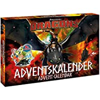 Disney- Dragons Calendrier de l'Avent, 57323