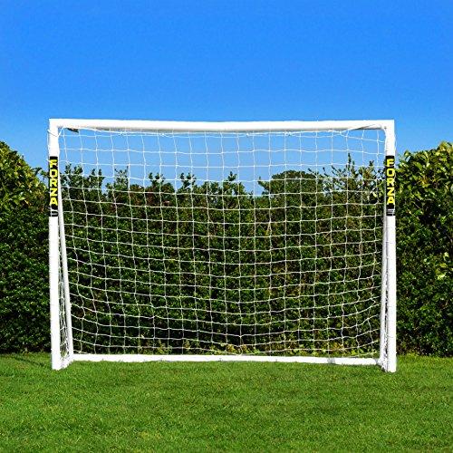 FORZA Fußballtore - die komplette Reihe - Tore mit einem Sperrsystem, Match Tore und Steel42 Tore (Tor mit Sperrsystem - 2,4m x 1,8m)