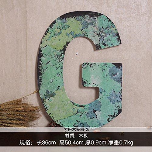 american-creative-decorazione-murale-in-inglese-in-ordine-alfabetico-pannellatura-in-legno-appeso-pi