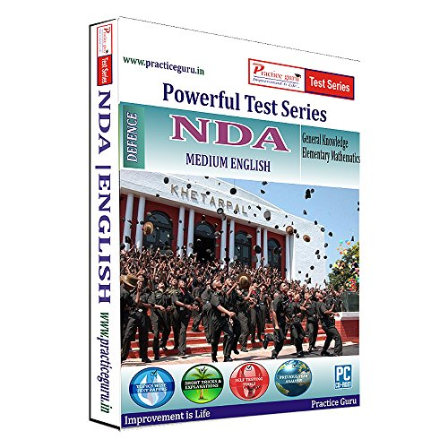 Practice Guru NDA Test Series (CD)  available at amazon for Rs.449