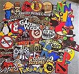 Lot de stickers Geek , jeux vidéo , gamer , console , nintendo héros , au choix