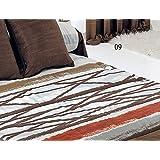 Edredón ajustable Azibar cama de 90 color Marrón