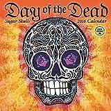Day of the Dead 2016 Wall Calendar: Sugar Skulls by Amber Lotus Publishing (2015-07-22)