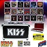KISS Album Cover Coaster Set in Guitar Case - Con. Excl. by Bif Bang Pow!