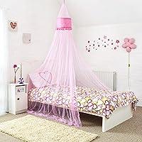 Mosquito Nets 4 U -Pink Angelo letto a baldacchino per Little (4 Letto A Baldacchino)