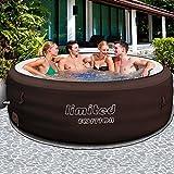 Bestway LAY-Z-SPA Limited mit Filterpumpe - Whirlpool beheizter Pool Outdoor
