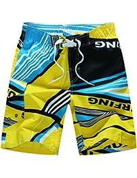 SEVENWELL Shorts Estampados Para Summer Holiday Quick Dry Swim Trunks Shorts De Playa Hombre PISSZCl