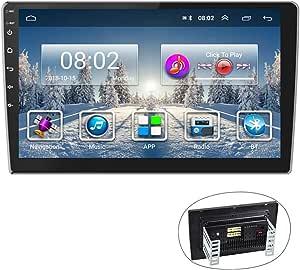 Android Car Radio Gps 9 Inch Car Radio Camecho 2 Din Touchscreen Fm Am Radio Bluetooth Wifi Mobile Phone Mirror Link With Dual Usb Navigation Car Hifi