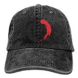 Aoliaoyudonggha Karate Logo Unisex Adjustable Baseball Caps Denim Hats Cowboy Sport Outdoor