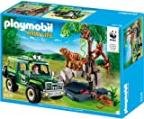 Playmobil 5274 - WWF-Geländewagen bei Tigern und Orang-Utans