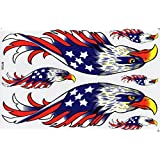 Aigle EAGLE STICKER Tuning Racing Motocross Autocollant feuille 27 x 18 cm