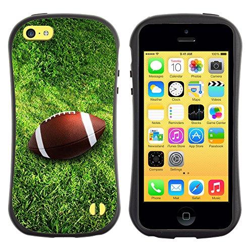 Graphic4You Amerikaner Fußball Football Sport Design Harte Hülle Case Tasche Schutzhülle für Apple iPhone 5C Design #3
