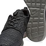 Nike Roshe NM Flyknit, Scarpe da Corsa Uomo, Black (Nero/Nero a Mezzanotte Nebbia), 40.5 EU