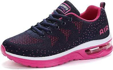 Scarpe da Ginnastica Uomo Donna Sportive Sneakers Running Basse Basket Sport Outdoor Fitness-BluePink34