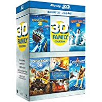 3D Family Collection (5 Blu-Ray 3D +  Blu-Ray Disc);Happy Feet 2;3D family collection
