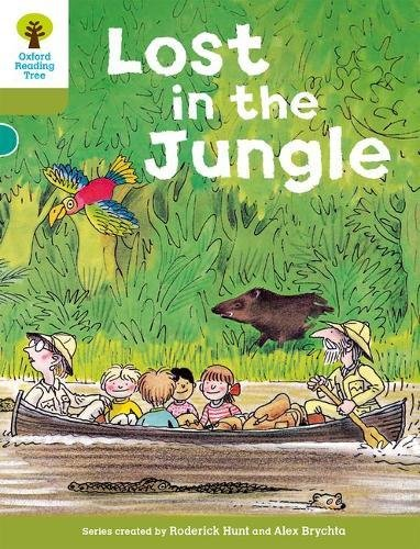 Oxford Reading Tree: Level 7: Stories: Lost in the Jungle por Roderick Hunt