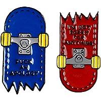 LAVALINK 2 Pc/Insieme Spilla in Metallo Skateboard Forma Collare Pin Accessorio per Cappotto del Rivestimento Gioielli…