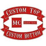Biker Toppa Patch distintivo graduatoria President MC Club
